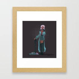 Olive! Framed Art Print