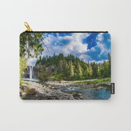 Snoqualmie Falls from Below Carry-All Pouch