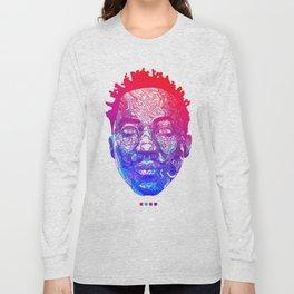 Qtip Portrait Long Sleeve T-shirt