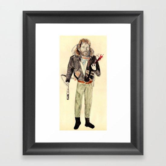 R.J. MacReady | The Thing Framed Art Print