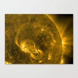 Solar Storm Canvas Print