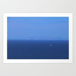 Santorini, Greece 13 Art Print