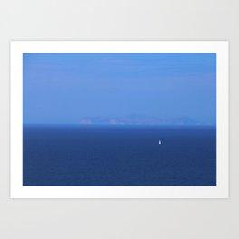 Santorini, Greece 13 Art Print