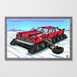 All Terrain: Tundra Canvas Print