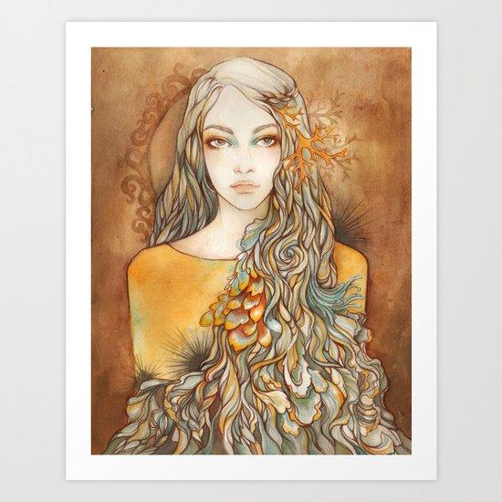 Touch Me I'm Lovely Art Print