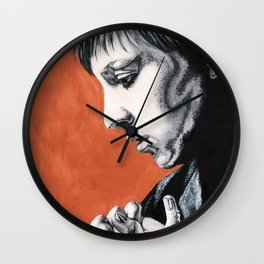 psychedelic lena... Wall Clock