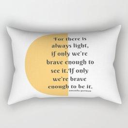 Amanda gorman Rectangular Pillow