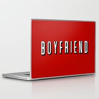 boyfriend Laptop & iPad Skins featuring My Boyfriend by Travis Love