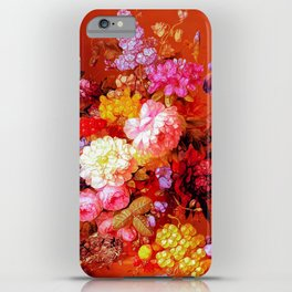 Passion Fruits and Flowers iPhone Case