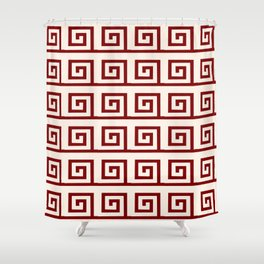 Antic pattern 1 Shower Curtain