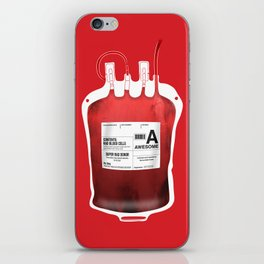 My Blood Type is A, for Awesome! *Classic* iPhone Skin