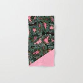 Pink on Coleus Plant Hand & Bath Towel
