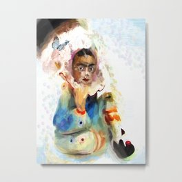 Frida bella Metal Print