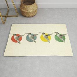 The Hummingbird Dance Rug