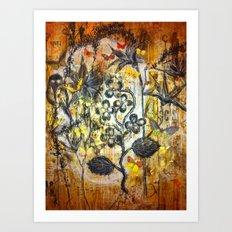 Botanism Art Print