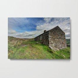 Kisdon Cottage Metal Print