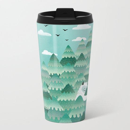 Tree Hugger (Spring & Summer version) Metal Travel Mug