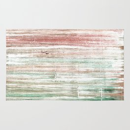 Grullo abstract watercolor Rug