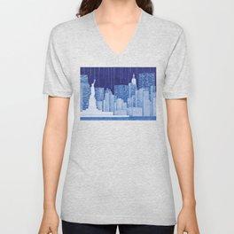 New York, Statue of Liberty Unisex V-Neck