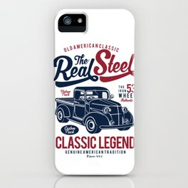 The Real Steel Vintage Truck iPhone Case