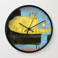 BLACK CHAIR 2 Wall Clock