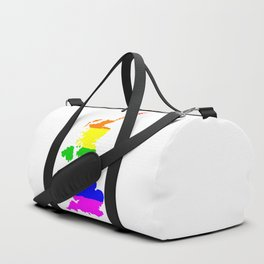 United Kingdom Gay Pride Flag Duffle Bag