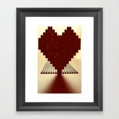 Let's Build Something Together Framed Art Print