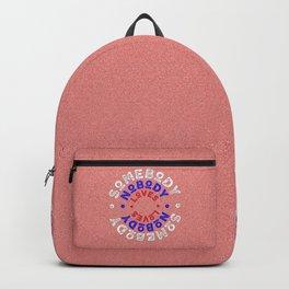 somebody nobody loves -SQUARE Backpack