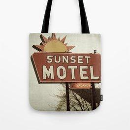 Sunset Motel Tote Bag