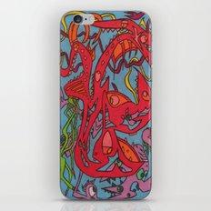 Matching Slashes iPhone & iPod Skin