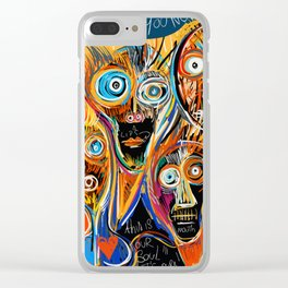 This is our soul Street Art Graffiti Clear iPhone Case