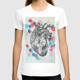Flowering Heart T-shirt