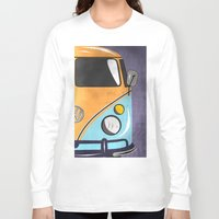 car Long Sleeve T-shirts featuring car  by mark ashkenazi