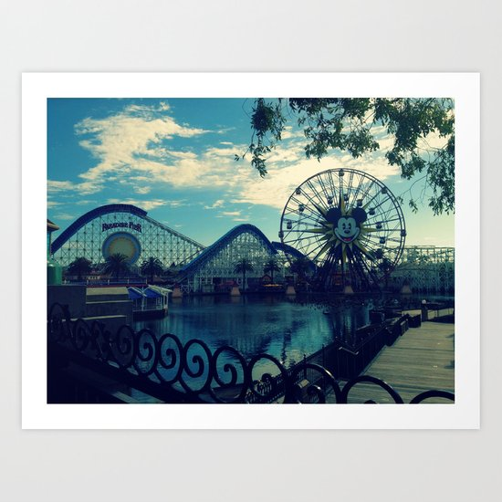 Disneyland, CA Art Print