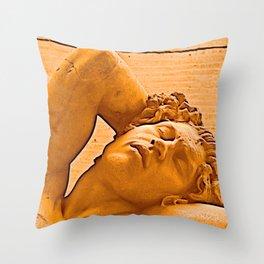 Adonis Throw Pillow