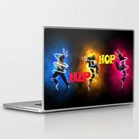 hip hop Laptop & iPad Skins featuring Hip Hop by ezmaya