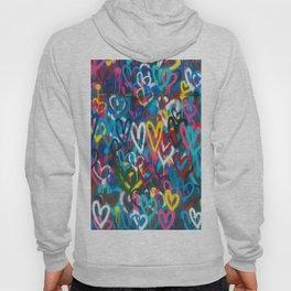 Graffiti Hearts Love (Color) Hoody