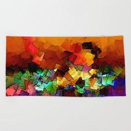 towel full of colors -6- Beach Towel