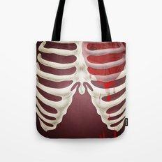 Bleeding Heart Redux Tote Bag