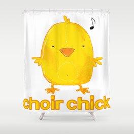 choir chick Shower Curtain