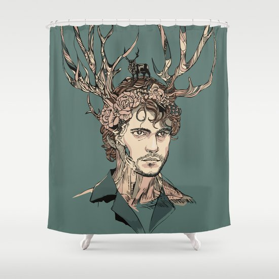 I Believe You Shower Curtain