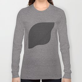 Silk . Geometric Collection Long Sleeve T-shirt