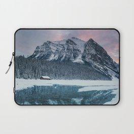 Sunset at Lake Louise Laptop Sleeve