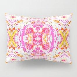 Marbeling Roseate Pillow Sham