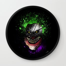 Hi, I'm Jo! (Mask) Wall Clock