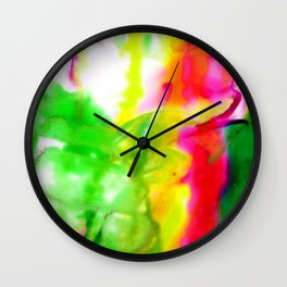 Abstract Bliss 5G by Kathy Morton Stanion Wall Clock