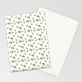 Watercolour Avocado Pattern Stationery Cards
