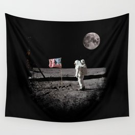 The Great Conspiracy: The Moon Is a Lie Wall Tapestry