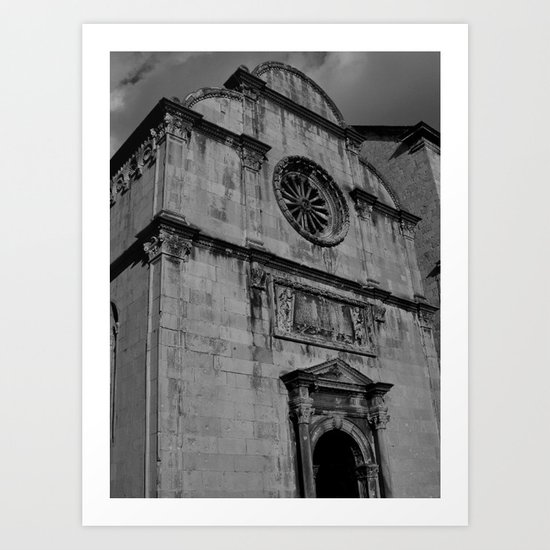 Venetian Church Art Print