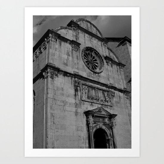 Venetian Church Art Print